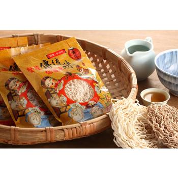 傳統味關廟麵 團購秒殺五味飄香組合25包(含運)(麻醬+麻辣+油蔥+傻瓜麵+喬麥涼麵)
