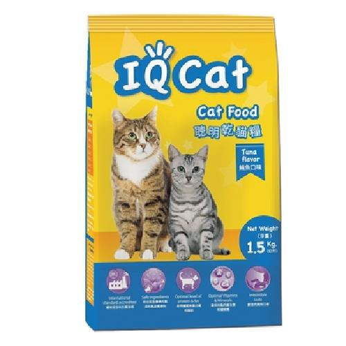 IQ Cat 聰明貓糧-鮪魚口味(1.5kg/包)
