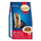 《慧心》牛肉口味小型犬配方(3kg/包)