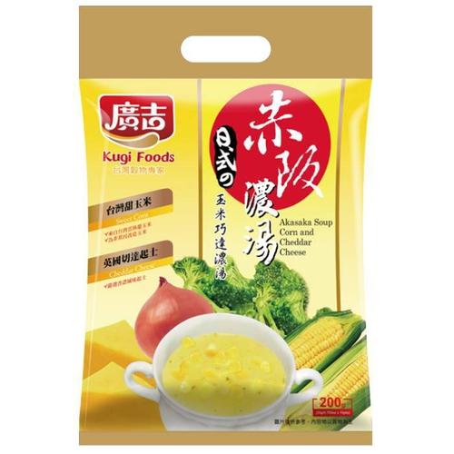 《廣吉》赤阪濃湯-玉米巧達(20g*10入/200g)