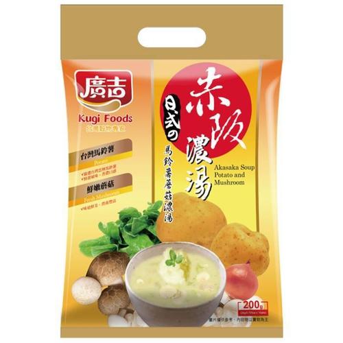 《廣吉》赤阪濃湯-馬鈴薯蘑菇濃湯(20g*10入/袋)