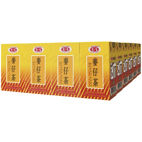 《愛之味》麥仔茶(250ml*24包/箱)