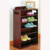 英式古典六層收納鞋櫃