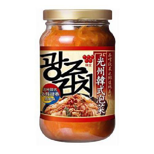 《味全》光州韓式泡菜(350g/瓶)