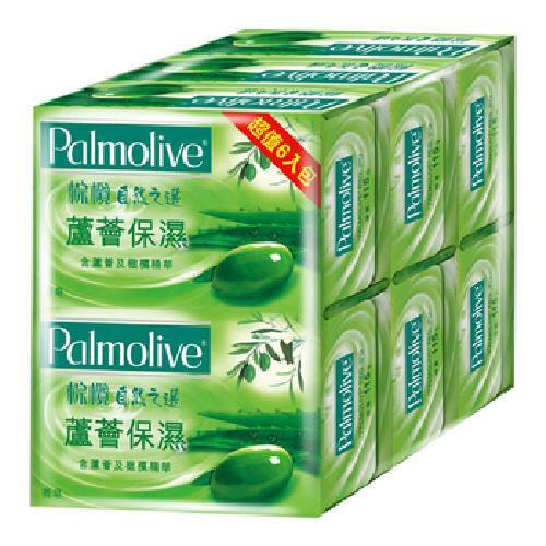 棕欖 蘆薈保濕香皂(115gx6/組)