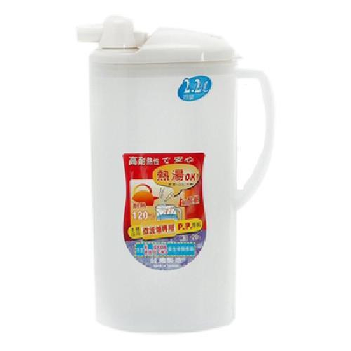 新越耐熱水壺(白、紅 、藍隨機出貨)(2200cc)