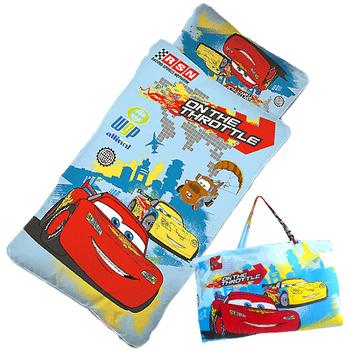【閃電麥坤-CARS】外出篇-幼教兒童睡袋(4*5尺)(藍)