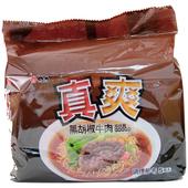 《維力》真爽黑胡椒牛肉湯麵(80g*5入/組)