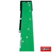 《DELUXE PUTTING GREEN》EX 專利可變化坡道高爾夫果嶺推桿練習器草皮可撥
