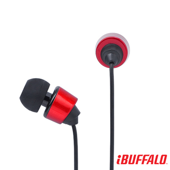 BUFFALO 15系列 ROCK高音質耳機(紅)