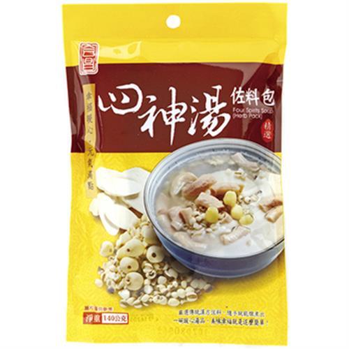 茂喜 四神湯【調理用】(140g±4.5%/包)