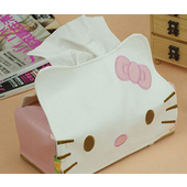 《ROYAL LIN》Hello kitty面紙盒(粉紅)