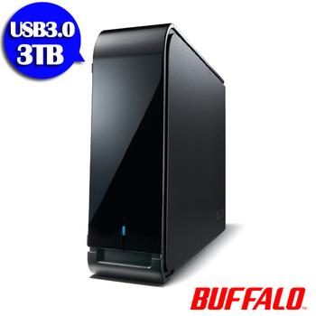 BUFFALO LX系列3.5吋3TB USB3.0 超大容量 儲存硬碟