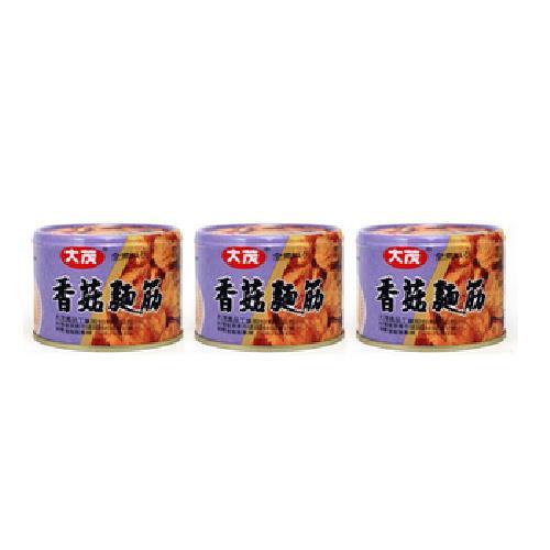 大茂 香菇麵筋(170g*3罐/組)