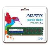 《ADATA 威剛》4GB DDR3 1600 桌上型記憶體