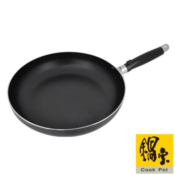 鍋寶 歐式平底不沾鍋32CM(黑)FP-0320
