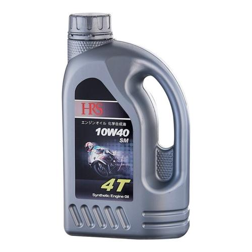 HRS 4T 10W40合成機車機油(1L/瓶)
