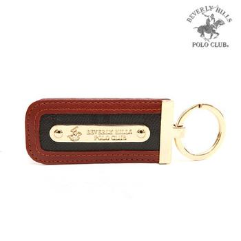BEVERLY HILLS POLO 經典綠格紋 單環鑰匙圈
