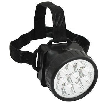 ★結帳現折★月陽 頭戴式12LED超白光高亮度頭燈工作燈(5681)