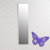 《BuyJM》時尚鋁合金框壁鏡-高120cm(銀色)