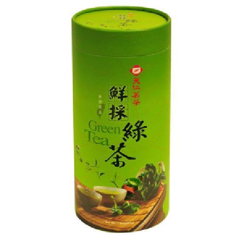 《天仁》台灣茗品-鮮採綠茶(225g/罐)