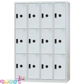 《SWEET》KL多用途4*6尺置物櫃~12格(灰)