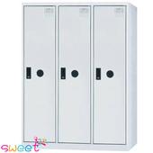 《SWEET》SDF多用途置物櫃~3人(灰)