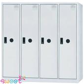 《SWEET》SDF多用途置物櫃~4人(灰)