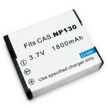 CASIO相機電池 CASIO NP130 NP-130 EX-ZR100 EZ-H30 EXZR100 EZH30 相機電池(1800mAh)