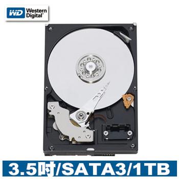 WD 威騰 1TB 3.5吋 SATAIII 硬碟(WD10EZEX)