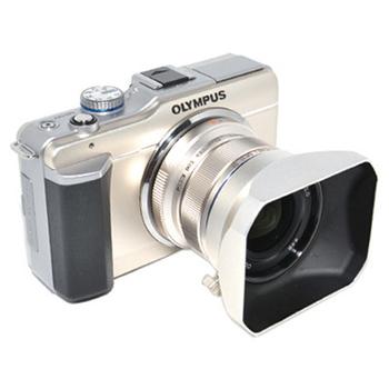 JJC OLYMPUS遮光罩/太陽罩/Lens Hood(LH-48 (適MZD ED 12mm 1:2.0))