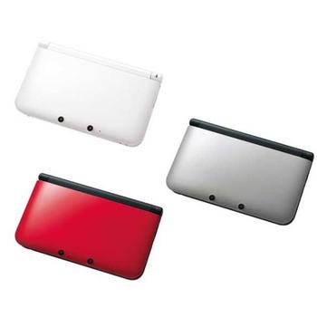 3DS LL日規主機★送保護貼(銀黑色)