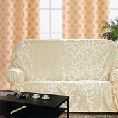 《布安於室》蔓澤 DIY 1+2+3人座沙發罩(米色)