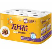 《五月花》妙用廚房紙巾(112張*6捲/袋)