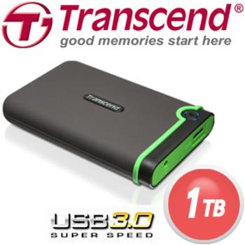 Transcend 創見 1TB USB3.0 25M3 2.5吋 防撞行動硬碟
