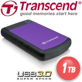 Transcend 創見 1TB USB3.0 H3P 2.5吋軍規防震硬碟