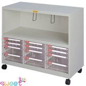 《SWEET》多功能電腦桌邊效率櫃-含輪子 (905B)