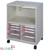 《SWEET》多功能電腦桌邊效率櫃-含輪子 (905C)