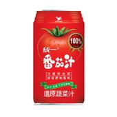 《統一》蕃茄汁-無鹽(340ml*6罐/組)