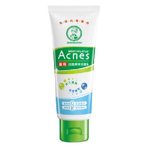 《曼秀雷敦》Acnes藥用抗痘柔珠洗面乳(100公克/支)
