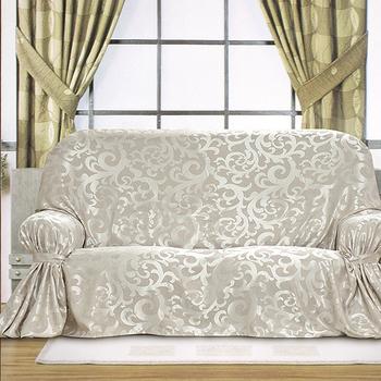 《布安於室》蔓澤 DIY 1人座沙發罩(銀灰)