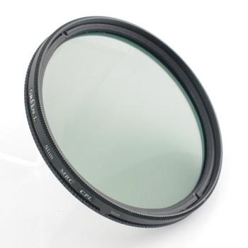 《GREEN.L》MC-CPL偏光鏡/環形偏光鏡/環型偏光鏡/圓形偏光鏡/圓型偏光鏡/圓偏振鏡/圓偏光鏡(55mm抗污多層膜,薄框)