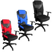 《凱堡》Toyz高級透氣辦公椅(藍)