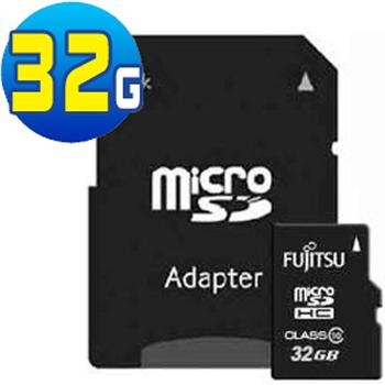 Fujitsu富士通 Class10 MicroSDHC 高速記憶卡(32GB)