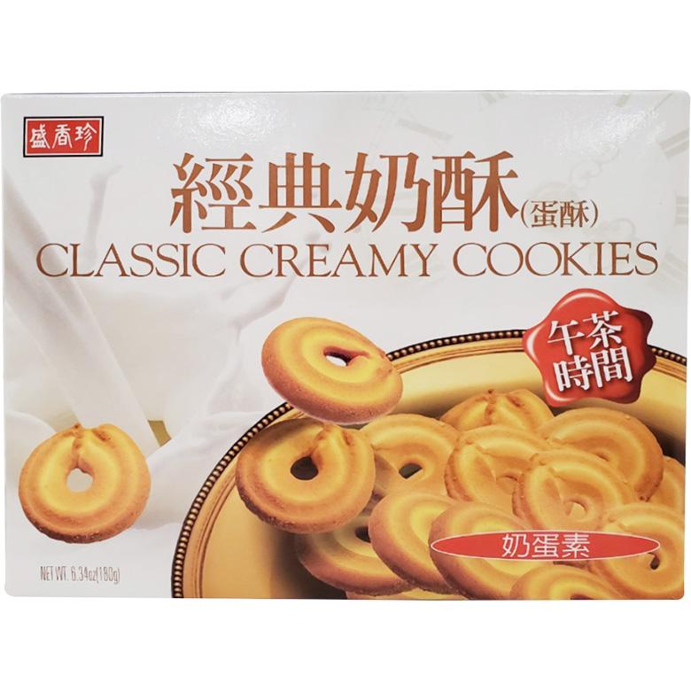 盛香珍 經典奶酥(180g/盒)