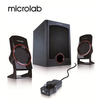 福利品 【Microlab】M-111 2.1時尚美聲多媒體喇叭