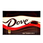 《Dove》德芙香濃黑巧克力(96公克/盒)
