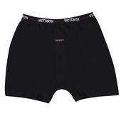 《VICTORYH》100%精梳棉針織平口褲 -2388D(灰-L)