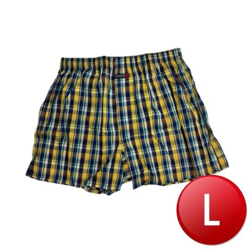 VICTORYH 織帶格子平口褲-2318(L/件)