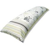 《J&N》蘿蔓長型抱枕1入(綠)